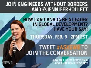 Twitter Q&A with Jennifer Hollett on Feb. 9 at 2PM EST!