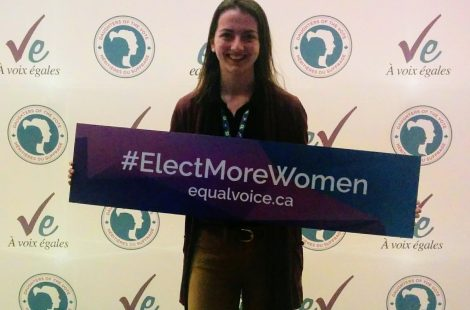 EWBer Alycia Leonard at Daughters of the Vote