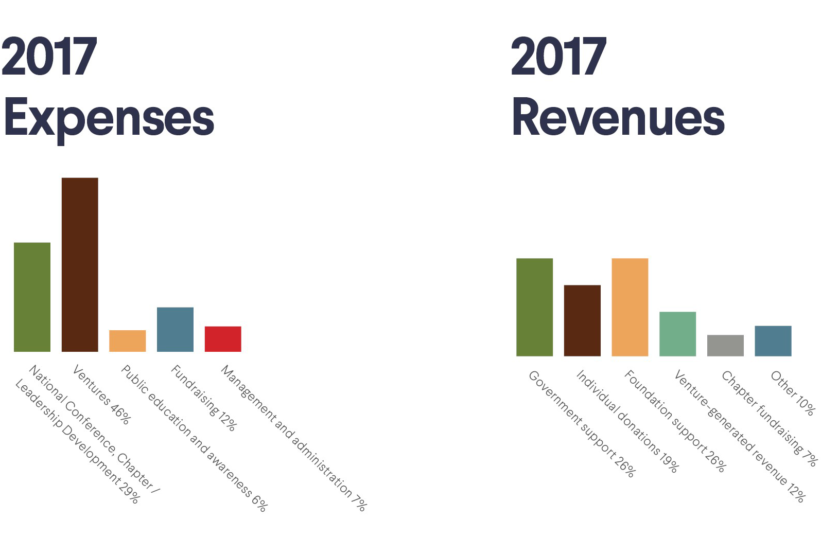 2017 Expenses and Revenue
