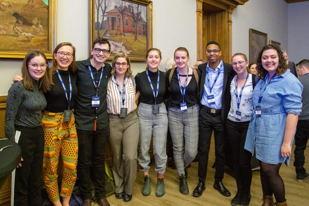 EWB University of New Brunswick Chapter Members at Global XChange 2020