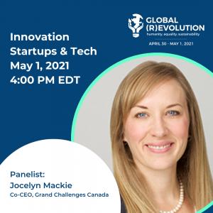 Jocelyn Mackie - Global (R)Evolution Panelist