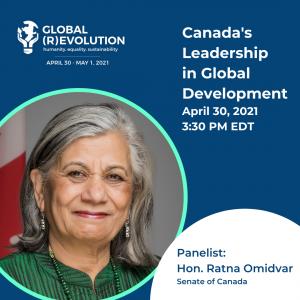 Hon. Ratna Omidvar - Global (R)Evolution Panelist