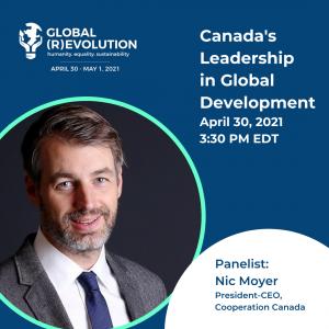 Nic Moyer - Global (R)Evolution Panelist