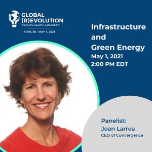 Joan Larrea - Global (R)Evolution Panelist