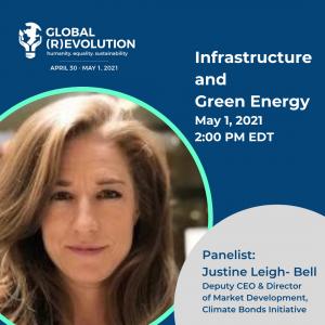 Justine Leigh-Bell - Global (R)Evolution Panelist