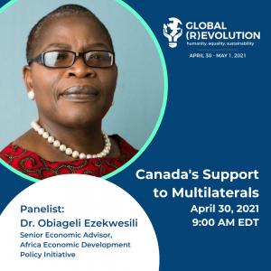 Dr. Obiageli Ezekwesili - Global (R)Evolution Panelist
