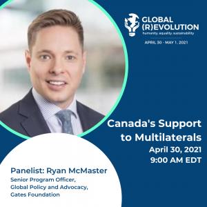 Ryan McMaster - Global (R)Evolution Panelist