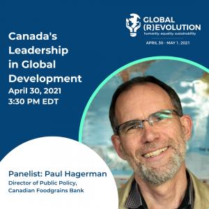 Paul Hagerman - Global (R)Evolution Panelist