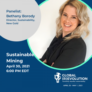 Bethany Borody - Global Revolution Panelist