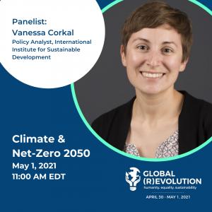 Vanessa Corkal - Global (R)Evolution Panelist