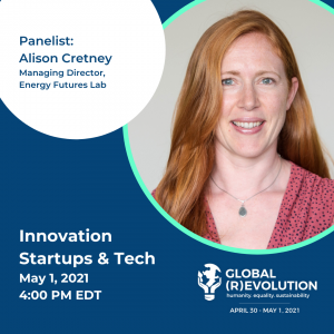 Alison Cretney - Global (R)Evolution Panelist